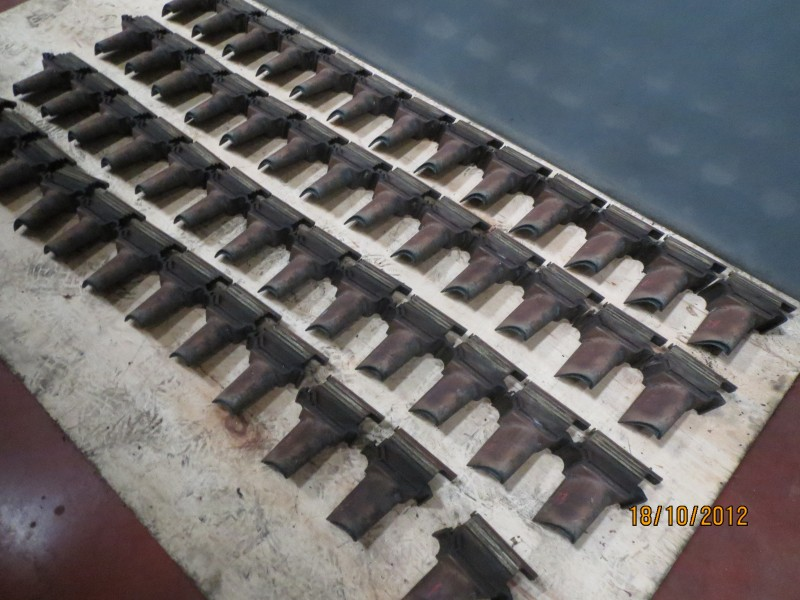 Turbine Blade Row 1