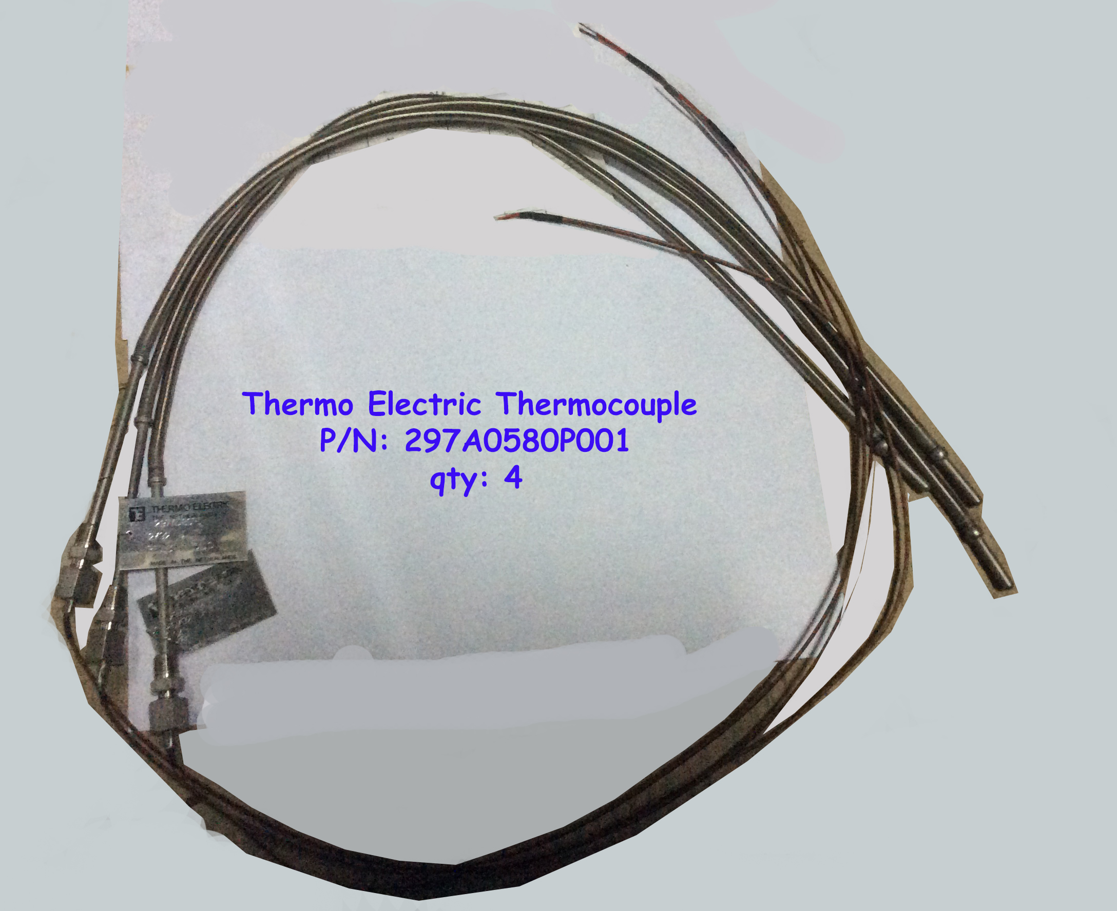 Thermocouples (x4) 297A0580P001
