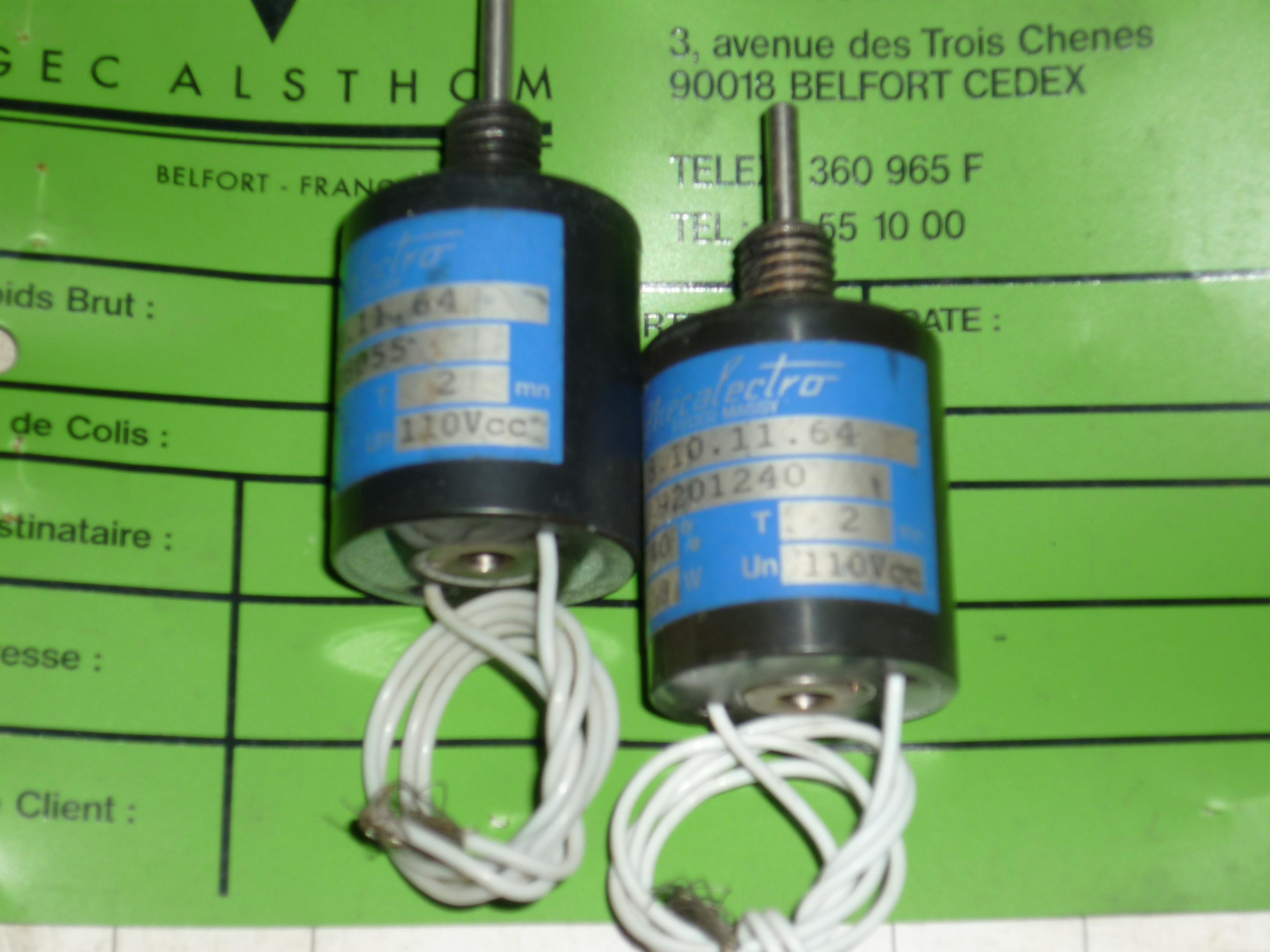 Solenoid Actuator (8.10.11.64)