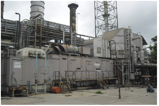 Gas Turbine Plant  4 x PGT 10 Units Cogen