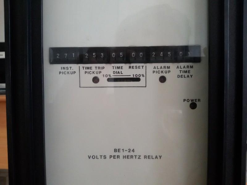 RELAY BASLER VOLT /HZ 24 DWG: BEI.24A1HF1JD1S2F