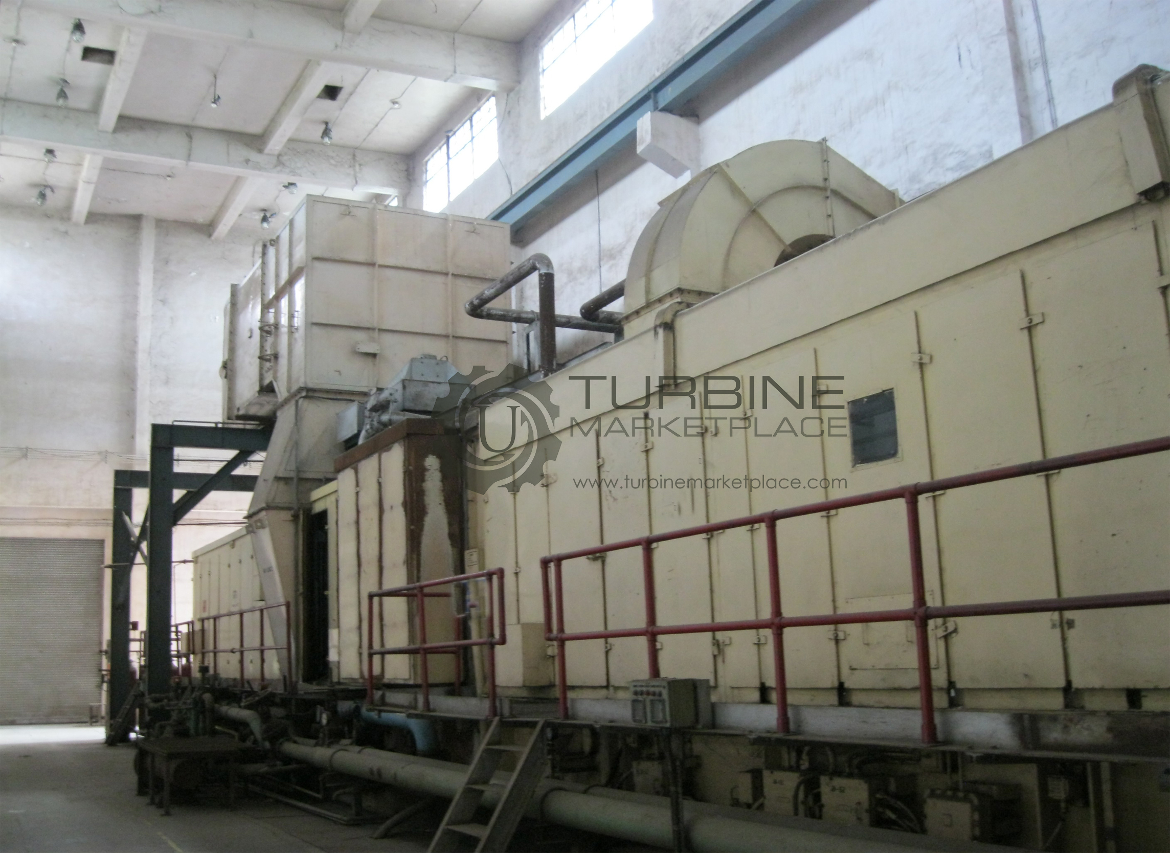 2 x FR6B (2 x 32.5MW) TURBINEs FOR SALE - UPRATED TO PG6581 WITH MK6 CONTROLS