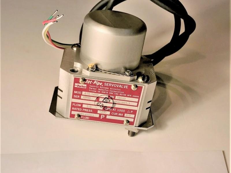 Servo Valve, Jet Pipe, Parker Hannifin - Electro Hydraulic